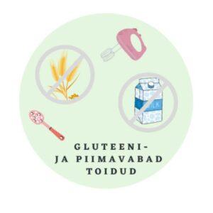 gluteenivabad retseptid lastele piimavabad